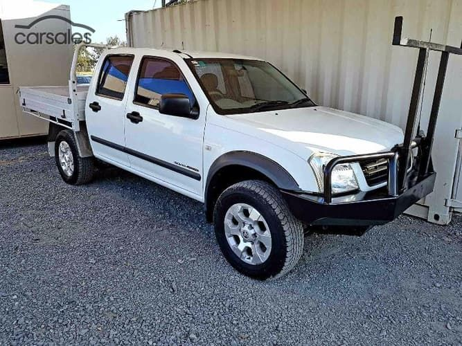 2004 Holden Rodeo LT RA Manual 4x4-$9,990
