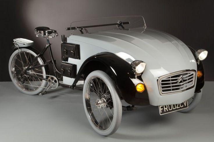 2 CV trike - Der Italiener Luca Agnelli vereinte das Beste aus zwei Welten. Aus einem alten...