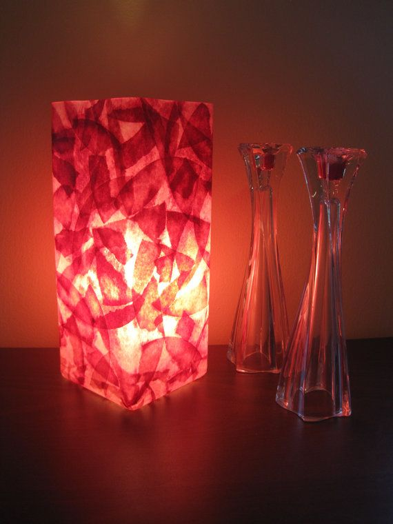 Best Coffee Filter Art Projects Images On Pinterest Coffee - Red table lamps for bedroom