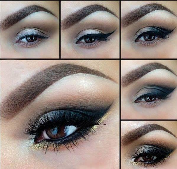 Ben noto 109 best Make up Tutorial images on Pinterest | Beauty makeup, Eye  PT97