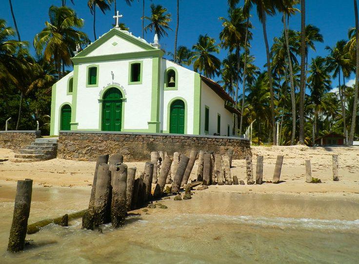 Capela de São Benedito /  Século XVIII / Praia de Carneiros / Pernambuco / Brasil