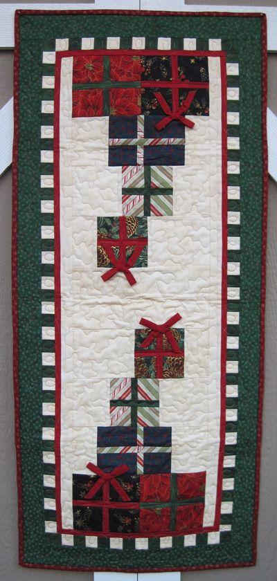 Merry Christmas Table Runner Quilt Kit