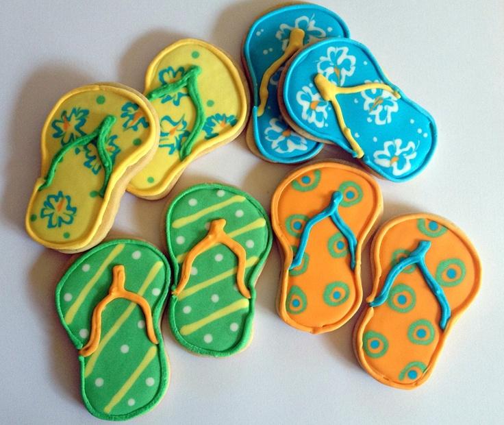 Havaianas cookies