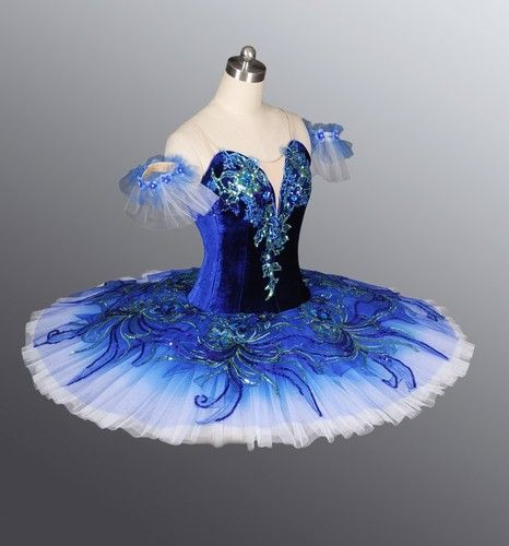 Classical Professional Ballet Tutu Competition Performance Blue | eBay