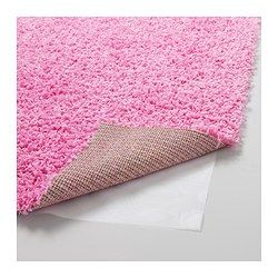 """HAMPEN Rug, high pile - 4 ' 4 """"x6 ' 5 """" - IKEA This would just fit.  Would take up all of the space not under furniture."""