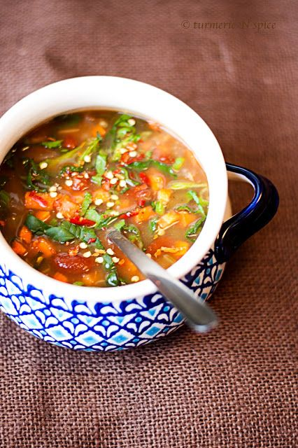 Turmeric n spice: Jamie Oliver's Minestrone