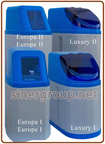 """Addolcitore acqua valvola automatica Clack WS1CI 1"""" elettronica (Rig.Volume-tempo) 8-10-12-15-20-25-30 litri resina"""