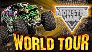 Monster jam world tour!