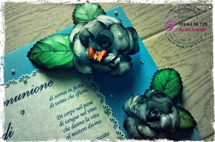 Ariel Atelier: dettaglio, pannello decorativo, Prima Comunione