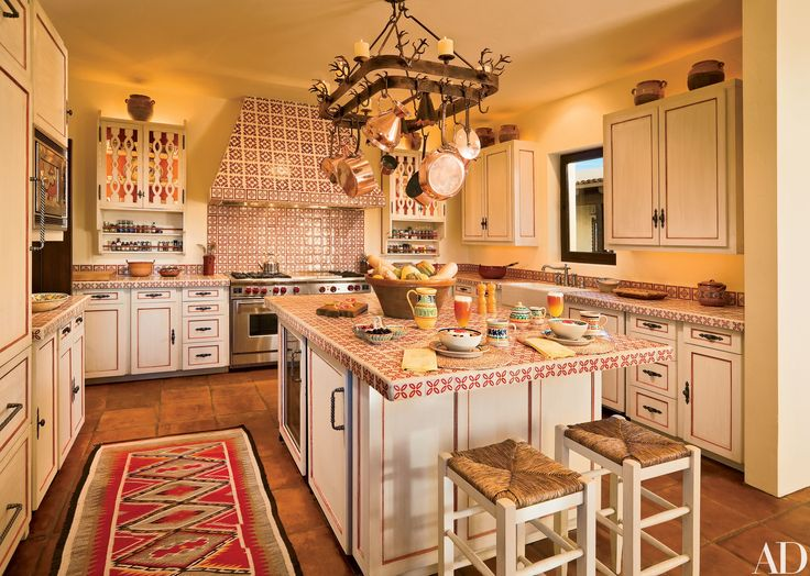 763 best spanish colonial kitchen style remodeling ideas for Colonial revival kitchen design