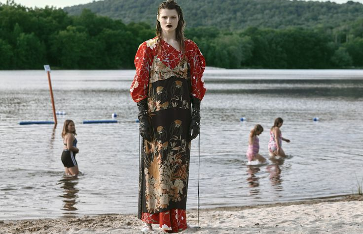 DRESS N°21 KIMONO DRESS AWAKE GLOVES BALENCIAGA