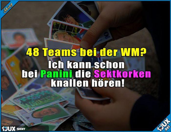 Die freuen sich schon auf die WM!  Lustige Sprüche  #MammutWM #WM #Fußball #FußballWM #Sprüche #1jux #Jodel #lustigeSprüche