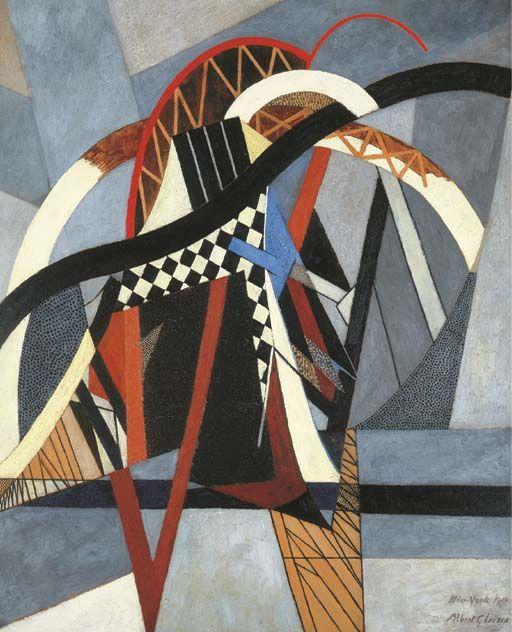 'Brooklyn Bridge' (1915) by Albert Gleizes