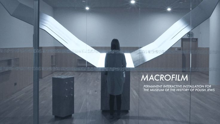 MACROFILM. MACROFILM a permanent interactive installation for  The Museum of The History of Polish Jews 	 Linking tangible experience of bro...