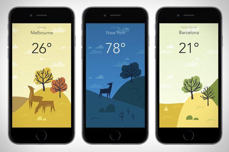 Wild Weather - A Beautiful Weather App - UltraLinx