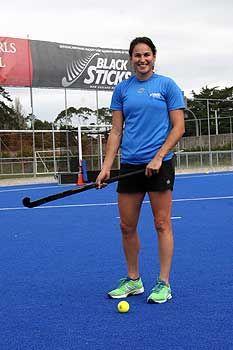 28% of the NZ Olympics team is Massey-made. Black Sticks co-captain (& Massey student) Kayla Sharland.
