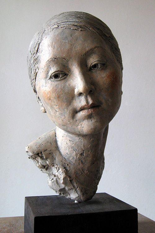 ☥ Figurative Ceramic Sculpture ☥  Suzie Zamit