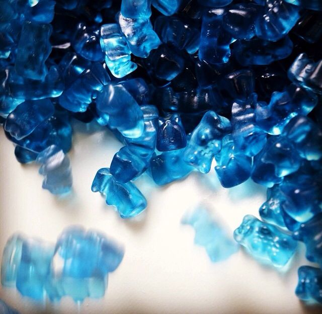Blue Haribo bears