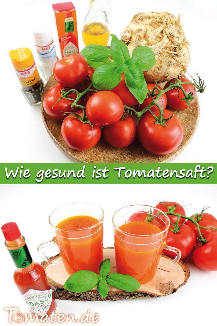 Tomatensaft Wirkung