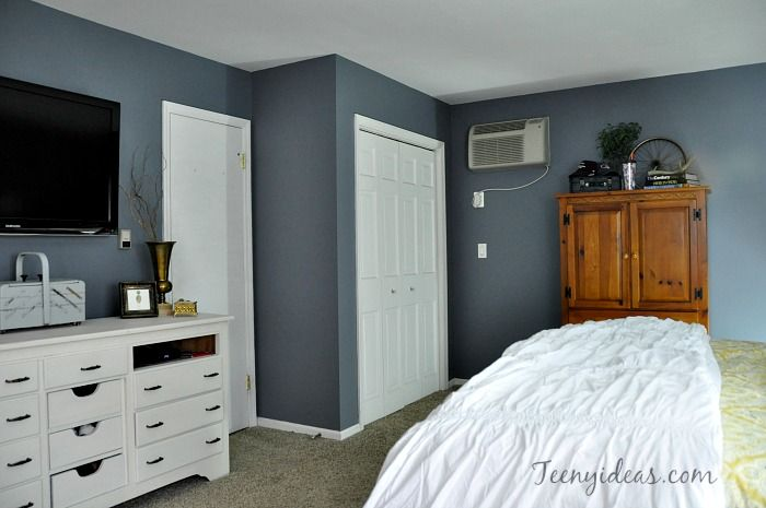 Cozy Master Bedroom Retreat Walls Painted Benjamin Moore