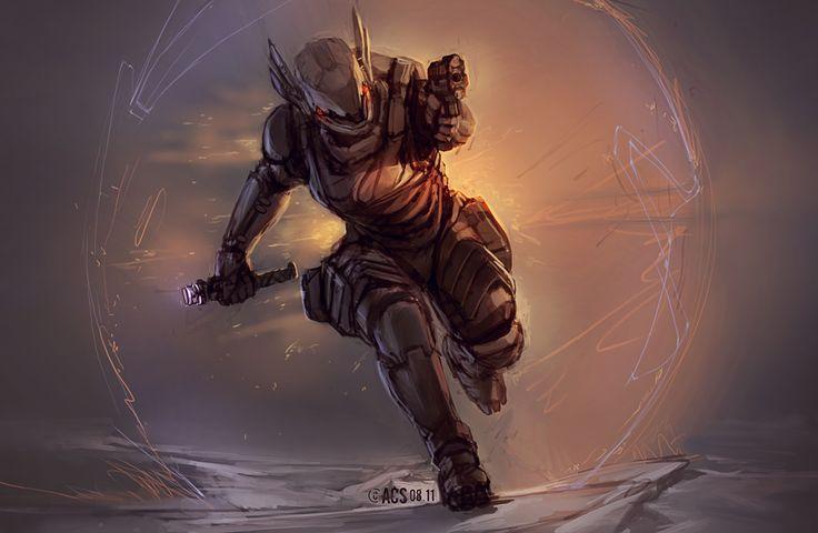 Running The Gauntlet by Shimmering-Sword.deviantart.com