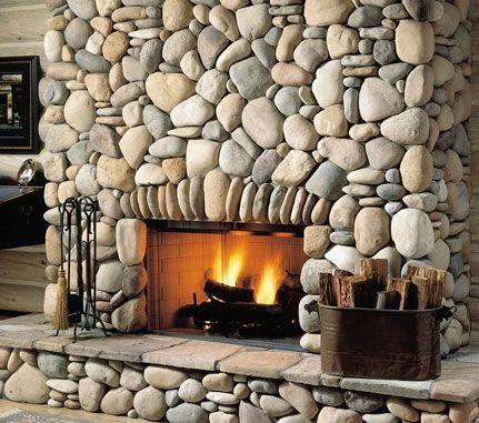 Fireplace Summer Stream Stone Cultured Stone 174 Brand