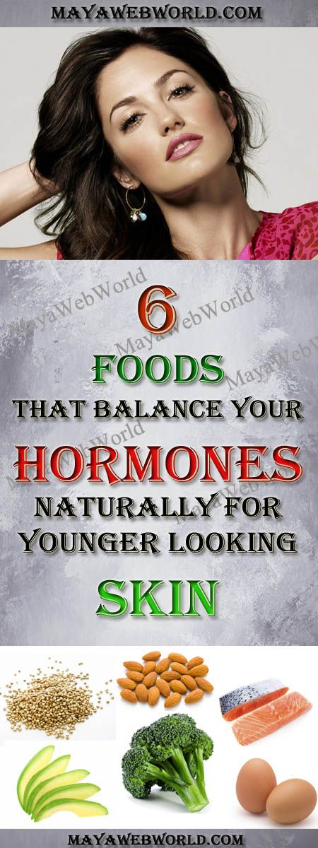 6 Foods That Balance Your Hormones Naturally For Younger-Looking Skin – MayaWebWorld