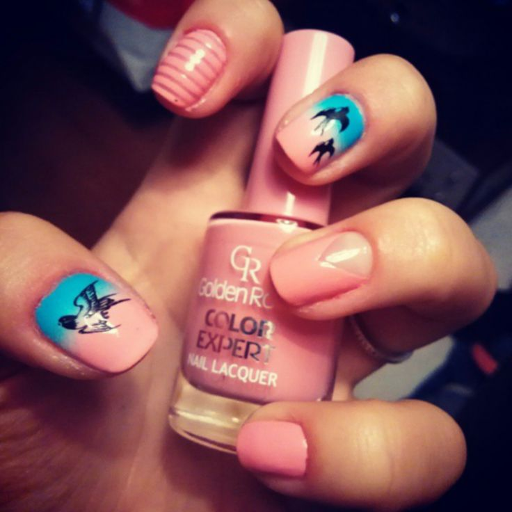my nails - my space <3