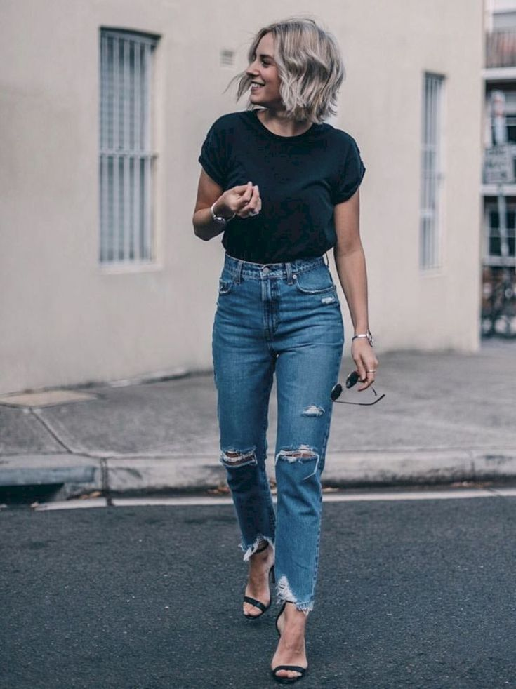 50 Best Outfits to Wear Vintage High Waisted Jeans in Style