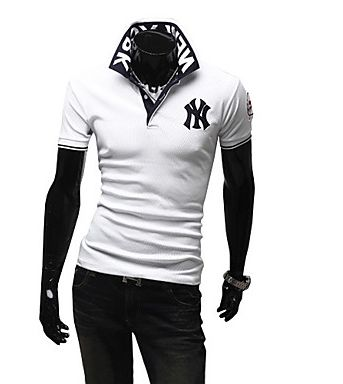 Mens New York Design Polo Shirt (2 Colours)