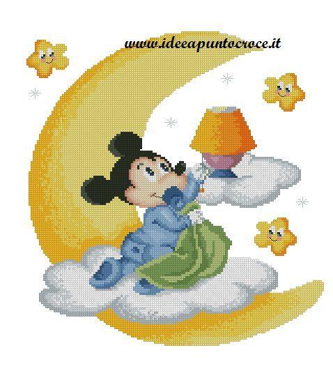 1000 Images About Schemi Punto Croce Disney On Pinterest