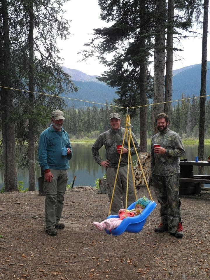 Christine McDonald, I want to coming camping with you to experience the baby zipline! - Amy