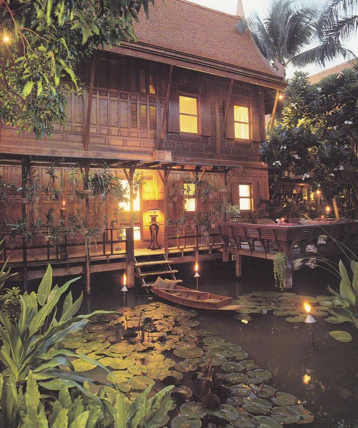 Thai house with Japanese elements 11 best