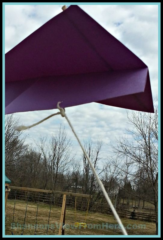The kids and I have been on the search for a homemade kite that flies.  We have found the perfect design.  This homemade kite will fly even without wind. The kids had a blast making their kites, decorating them, and finally running around the backyard with them.  There was not a lick of wind but …