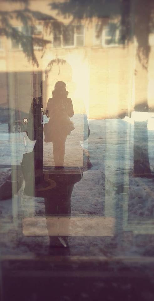 Inner self  Photography Door reflexion