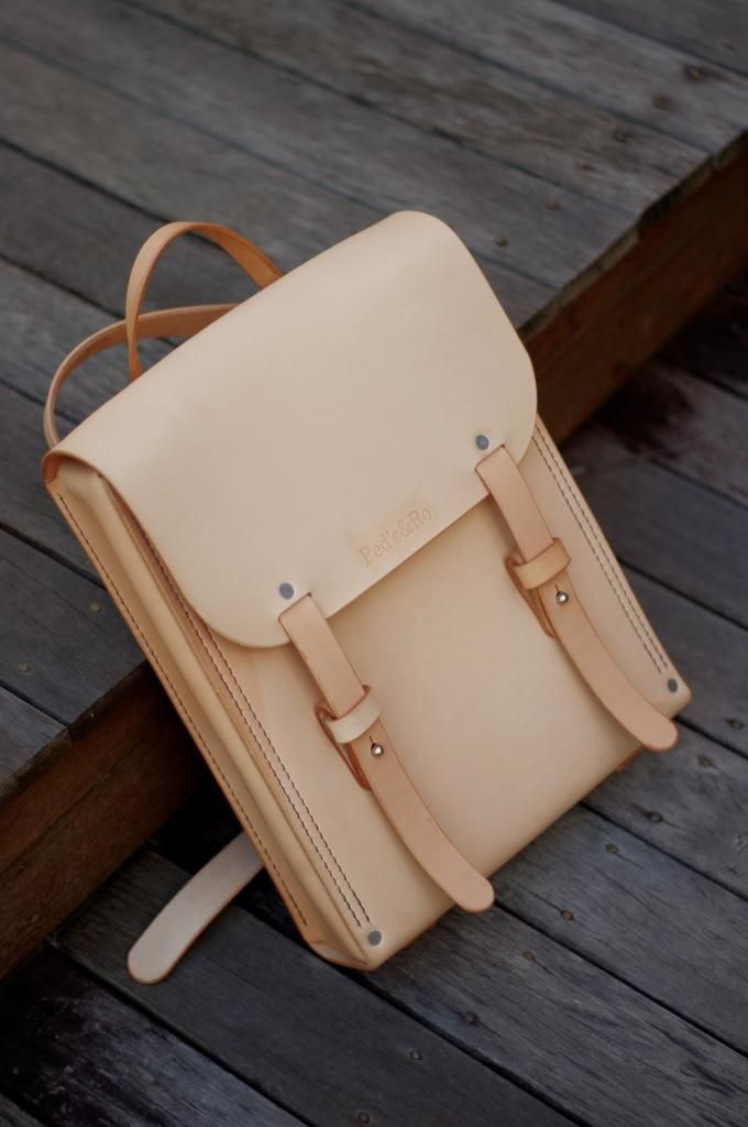 slim leather backpack men - Google Search