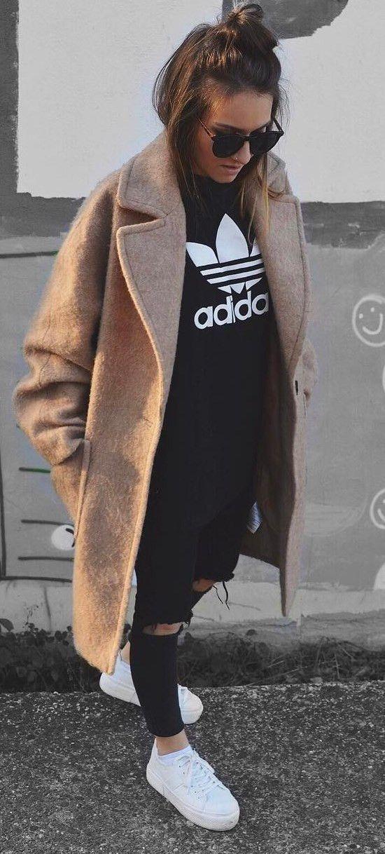 35 Trendy Basic Outfit-Ideen für diesen Herbst