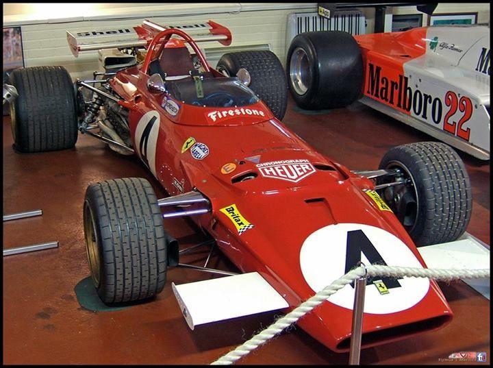 F1 Speciale Ferrari 312B 1970 Donington