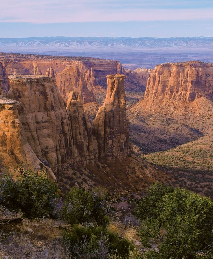 Grand Junction, #Colorado sits at the crossroads of some of the West's most grandiose natural sites: the Colorado River's whitewater rapids; Colorado National Monument's red-rock canyons filled with bighorn sheep; and Grand Mesa, the world's largest flat-top mountain.