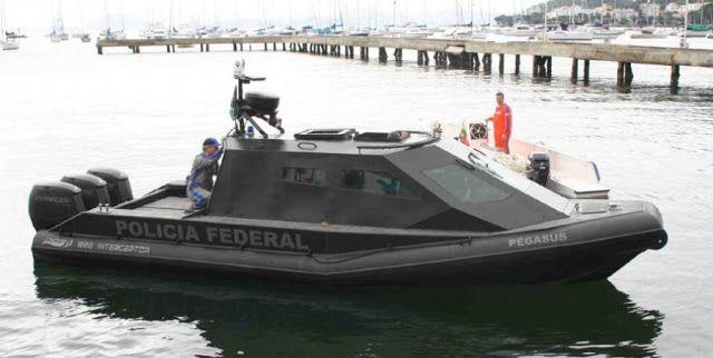 Segurança Nacional Blog SNB: Estaleiro Carioca DGS Defence Produzido embarcação blindada com sistema antirradar produzida no país.