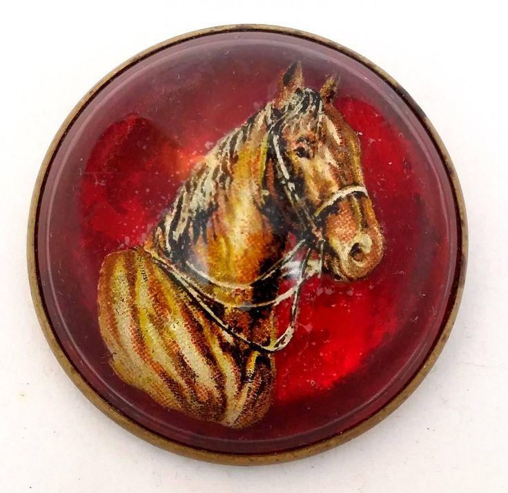 Plus de 25 ides uniques dans la catgorie christmas gift horse vintage horse brooch bubble dome glass pin equestrian lover gift christmas gift idea negle Image collections