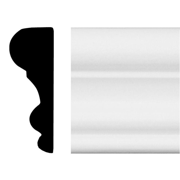 House of Fara 3/4 in. x 2-1/8 in. x 8 ft. MDF Panel Moulding