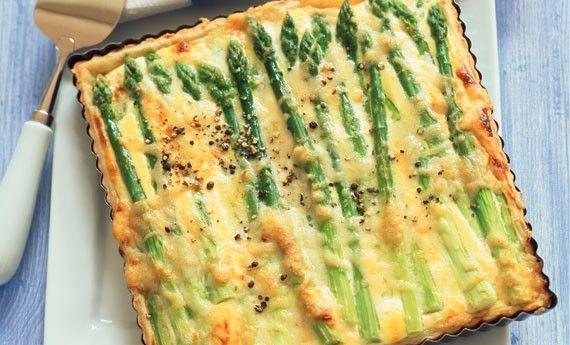 Torta salata con asparagi, ricetta veloce e gustosa! - LEITV