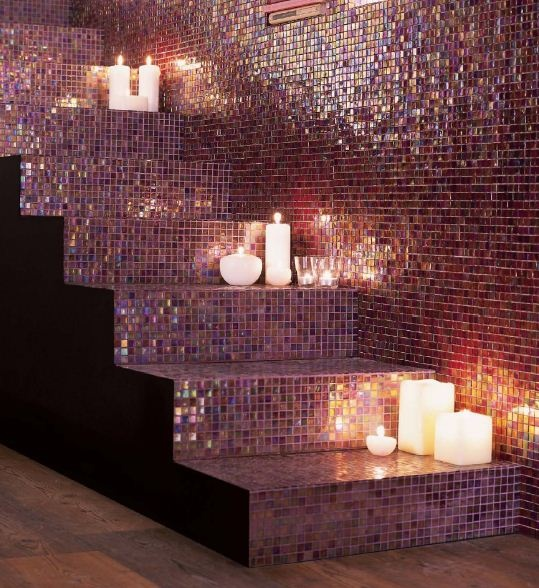 Recreate this this look with our CTD Mosaic tiles. http://www.ctdtiles.co.uk/search.aspx?searchTerm=mosaic