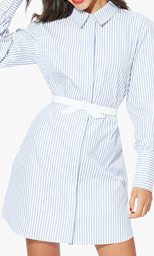 Tie your look together with this knotted leather belt in waist-defining white.