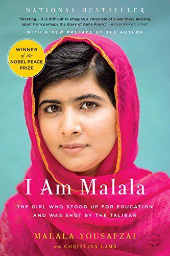 I Am Malala by Malala Yousafzai with Christina Lamb book cover