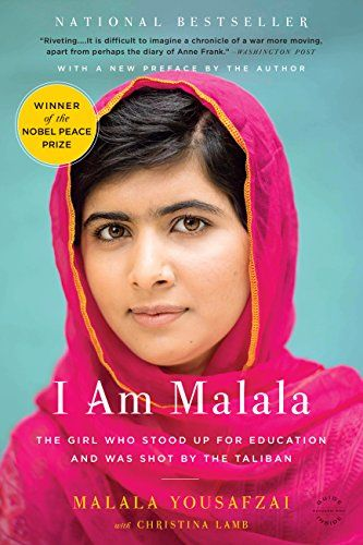 I Am Malala: The Girl Who Stood Up for Education and Was Shot by the Taliban by Malala Yousafzai http://www.amazon.com/dp/B00CH3DBNQ/ref=cm_sw_r_pi_dp_8hEFvb1YYPSSP