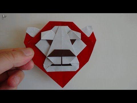 origami【Lion King】 - YouTube