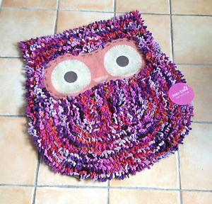 Cute-Owl-Multicoloured-Fluffy-Rug-Bath-Mat-By-Sass-Belle-Bedroom-Bathroom