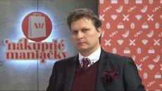 Nákupní maniaci - Luboš Téma: Džentlmen 21.storočia Doplnok: vreckovka do saka